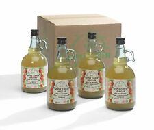 "Kent Apple Cider Vinegar 4 x 1L With ""Mother""   Raw   Unpasturised   Unfiltered"