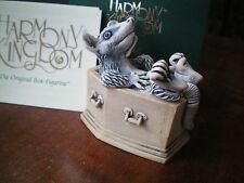 "Harmony Kingdom Graveyard Shift V1 ""Shirt"" Opossum Box Figurine Uk Made Nib"