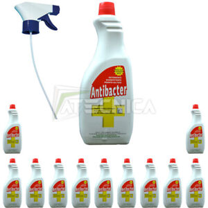 Detergente disinfettante certificato Haccp ANTIBACTER FIRMA 750ml 12pz