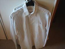Herren HEMDENPAKET, 5 Klassische Hemden Gr. M / 40, Langarm, gepflegt, Beigetöne