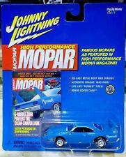JOHNNY LIGHTNING HIGH PERFORMANCE MOPAR 1970 PLYMOUTH SUPERBIRD BLUE 1/64 SEALED