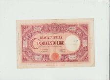 ITALY  500  LIRE  1943/1946