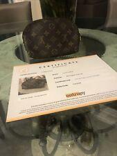 Louis Vuitton Monogram Small Makeup Bag Pouch Cert Of Authenticity No Reserve