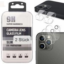 2x iPhone 12 / Mini / Pro / Max Kamera Schutz Folie Panzerfolie Hart-Glas Linse