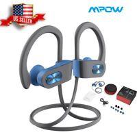 Mpow Wireless Headphone Running Sports Bluetooth Headset Bass Stereo Earphone