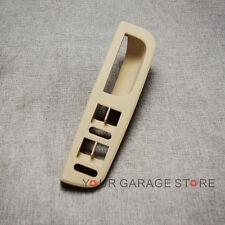 x1 Fensterheber Schalter Griff Blende Beige für VW Jetta Golf Passat 4 Tür NEU