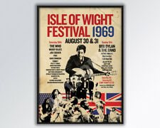 More details for isle of wight festival 1969 poster a3 size.