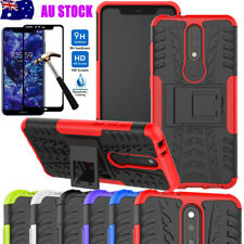 OutDoor Shockproof Hybrid Case Heavy Duty Stand Cover For Nokia 5.1 plus/2.2/2.3