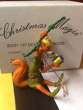 Grolier Disney Robin Hood Ornament Fox Swinging Christmas Magic DCO MIB RARE NEW