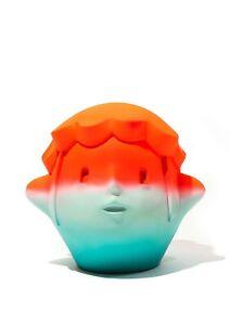 """""""Pinecone Boy: Sunset"""" By En Iwamura Vinyl Sculpture Limited Edition Kaws DDT LE"""