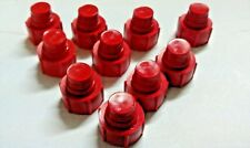 """Caps, Flare, Threaded, Made to Screw into 1/4"""" Flare Nuts, *Pack of 10"""