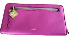 💕Pink Fossil Leather Purse 💕