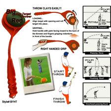 Handheld Clay Target Thrower Hand Disc Skeet Trap Pigeon Shooting Hunting Sports