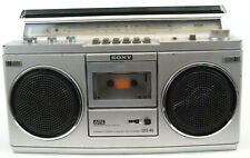 Vintage Sony CFS-45 FM/AM Stereo Cassette Recorder Boom Box TESTED