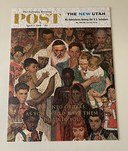 The Saturday Evening Post, Norman Rockwell Puzzle, April 1, 1961