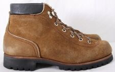 Red Wing 1952 Vtg USA Mountaineering Roughout Suede Hiking Ankle Boots Mens US 8