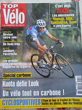 TOP VELO N°66: SEPTEMBRE 2002: 2003 BIANCHI MBK SPECIALIZED SUNN - DE ROSA KING