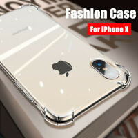 For iPhone 11 Pro Max 12 Mini X XS Max 6 6s 7 8 Plus Clear Shockproof Cover Case