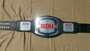 ROH Ring of HonorWrestling Championship Belt Adult Size