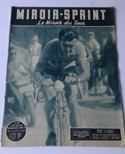 MIROIR-SPRINT / TOUR DE FRANCE  /VELO/ 28-JUILLET-1954  /BOBET/GRENOBLE-BRIANCON
