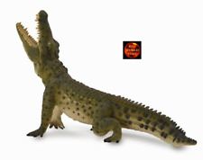 More details for nile crocodile with moving jaw reptile model by collecta 88725 brand new