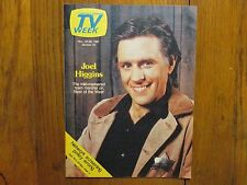 November 22, 1981 Chicago Tribune TV Week Magazine(JOEL HIGGINS/BEST OF THE WEST