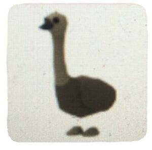 Emu, Rare Pet From Aussie Egg 2020 (out-of-game)