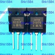 1pairs OR 2PCS  Transistor PANASONIC TO-3PL 2SB1317/2SD1975 B1317/D1975
