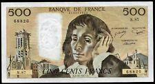 PASCAL ; 500 Francs ;  3.11.1977 ; FAY#71/17.