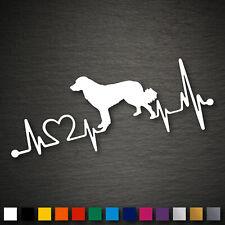 14212 Hovawart Heartbeat Sticker 179x71mm Dog Sticker Car Tuning