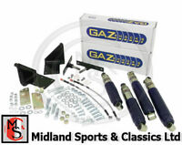 GAZ5 - MGB GAZ TELESCOPIC DAMPERS - FRONT & REAR SHOCK ABSORBER KIT - ALL MODELS