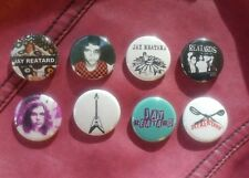 """8 1"""" Jay Reatard The Reatards pinback badges buttons"""