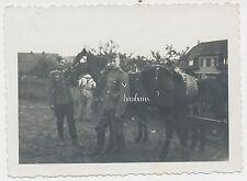 Foto Pferde-Soldaten-Wehrmacht  2.WK  (D30)