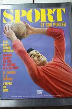 Sport et son poster - N°5 - Mars 1971 -  OM Saint Etienne - Espagne France