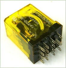 Aromat HC4E-DC24V 24 volt 4PDT Gas Filled Relay For Sony MCI Etc. JH-24 JK