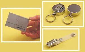 Single Card Kit: Card Holder, Clip & Chrome YoYo