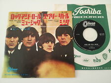 "BEATLES ""Rock n roll music"" Le Japon ODEON 7"" vinyle"
