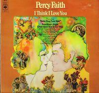 PERCY FAITH i think i love you CBS 64319 A1/B1 1st press uk cbs LP PS EX/EX