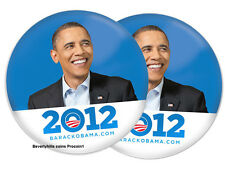 BARACK OBAMA 2012 For PRESIDENT Photo Campaign Button