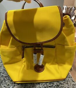 Large Dooney and Bourke  Canvas Murphy backpack; NEW