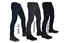 Pantaloni uomo slim fit chino elasticizzato america  42 44 46 48 50 52 54 56 702