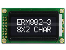 3.3V Black 8x2 Character LCD Module Display w/Tutorial HD44780,White Backlight