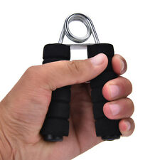 Heavy Duty Hand Grip Gripper Wrist Forearm Training Plastic Steel Exercise Sett.
