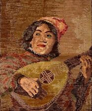 EP 3510 Musician Tramme Needlepoint Canvas & Yarn Kit