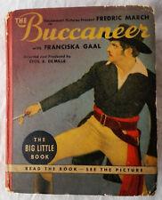 1938 The Buccaneer w/ Fredric March Vintage Big Little Book Movie Version VG