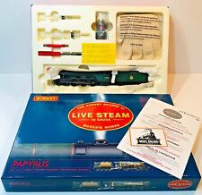 "HORNBY 00 GAUGE - R2492 - LIVE STEAM ""PAPYRUS"" CLASS A3 LOCOMOTIVE - MINT RARE!"