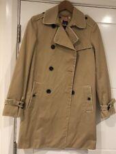 Gap Women's Trench Coat Beige/camel Size S