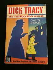Dick Tracy And The Woo Woo Sisters Rare Dell Paperback 1947