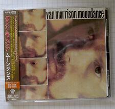 VAN MORRISON - Moondance JAPAN CD OBI RAR! WPCR-15356