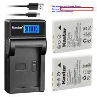 Kastar Battery LCD Charger for Nikon EN-EL8 MH-62 & Nikon Coolpix S3 Coolpix S5